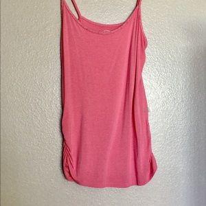 INC 'Pretty in Pink' Spaghetti Strap Top XL NWOT